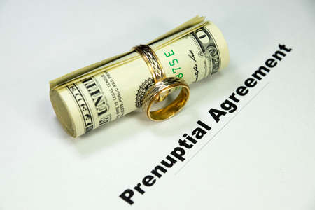 settlement: Marriage settlement Stock Photo