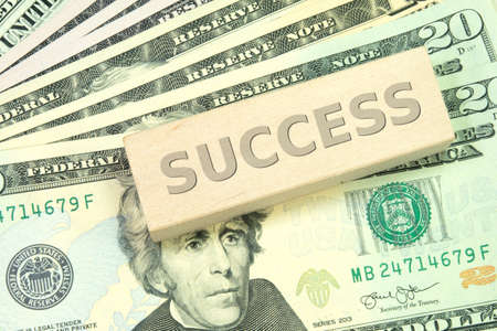 occur: Success and money Stock Photo