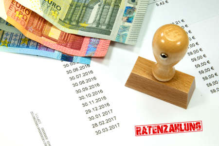 repayment: Euro money and repayment