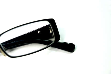 A pair of glasses on a white background Imagens