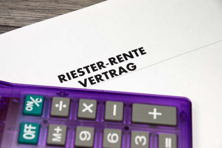 pension: Riester pension in Germany