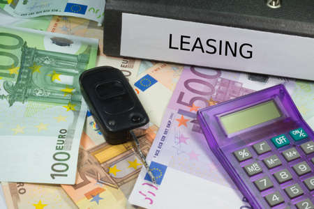 lease: Lease documents for a car