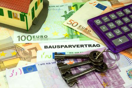 ownership: savings on apartment ownership Stock Photo