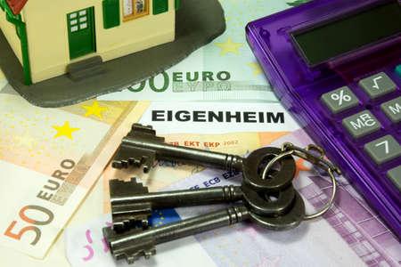 proprietary: savings on apartment ownership Stock Photo