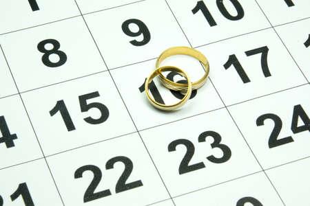 scheduler: Calendar and wedding rings