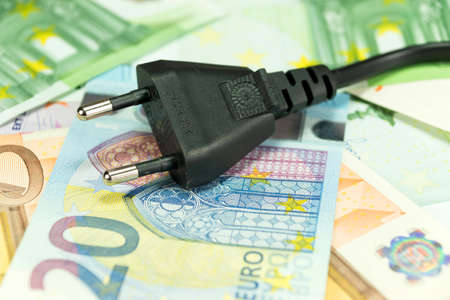 providers: Money and electric cables