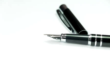 An elegant fountain pen