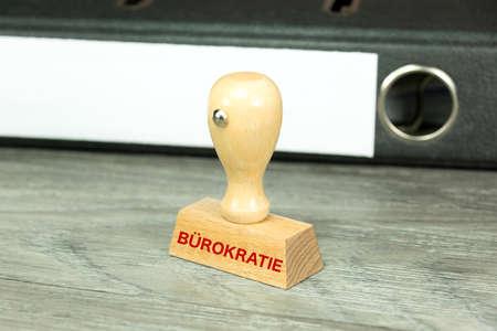 bureaucracy: A document folder and bureaucracy