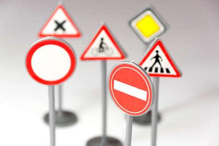 Various traffic signs Stockfoto