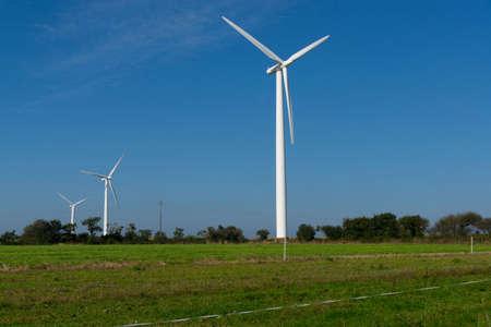 Windenergieinstallatie op het gebied