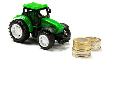 indebtedness: Euro money and tractor