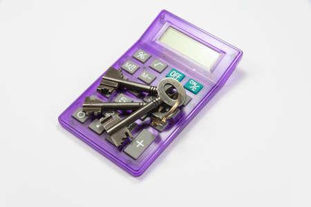 Calculator and keys