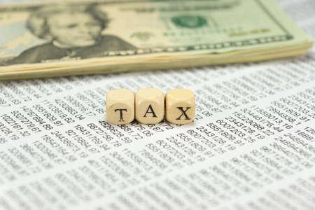 Dollars, charts and tax