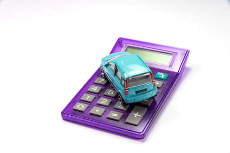 drivers license: A car and pocket calculator