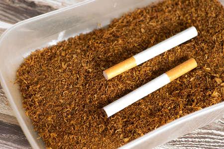 Cigarettes and tobacco 写真素材