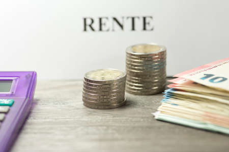 Money and the pension in Germany