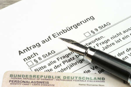 naturalization: Application for naturalization in Germany