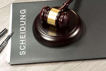 Judgment on divorce