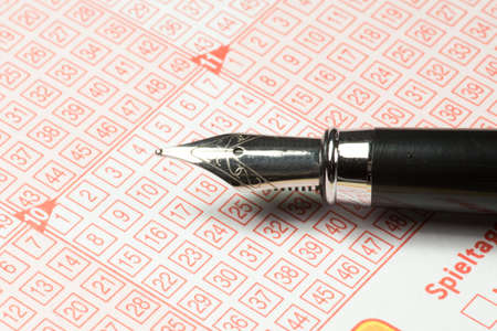 Pen and lottery game