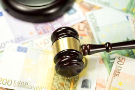Seducer`s hammer and euro money