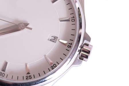 Watch on white background