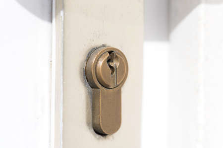 A lock and a door Imagens