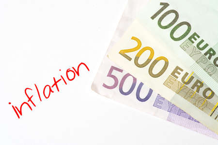 Euro money and inflation