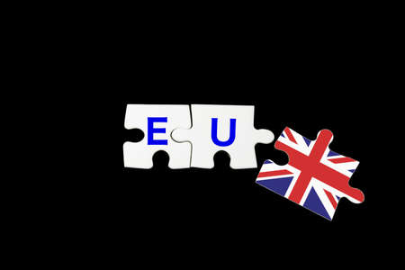 gb pound: Great Britain and eu coloring puzzles Stock Photo