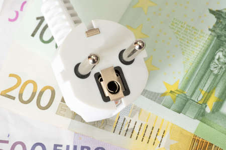 purposely: Euro money and the cost of electricity