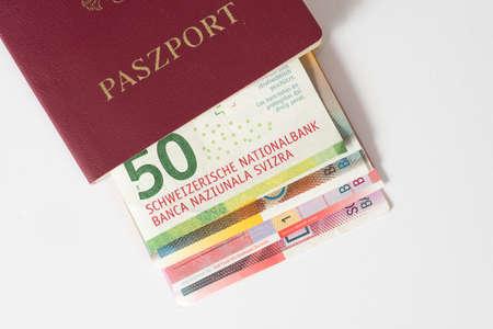Polish passport and Swiss Franc