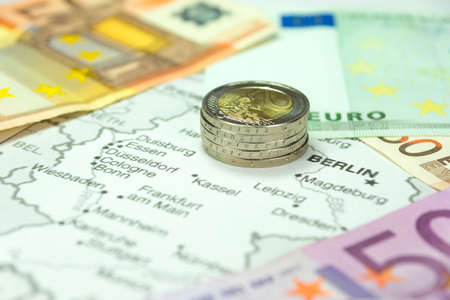 Money and the map of Germany