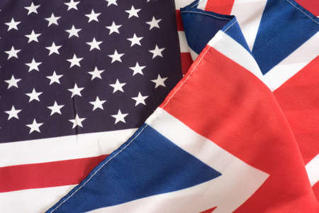 Flag of Great Britain and USA