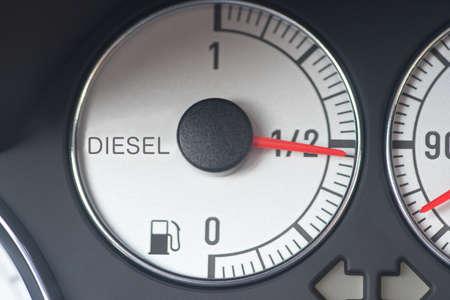 Fuel gauge from a diesel car
