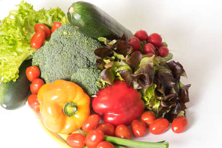 Various vegetables for a healthy nutrition Stockfoto