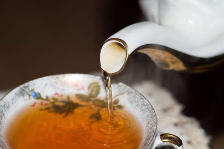 A jug and a cup of tea
