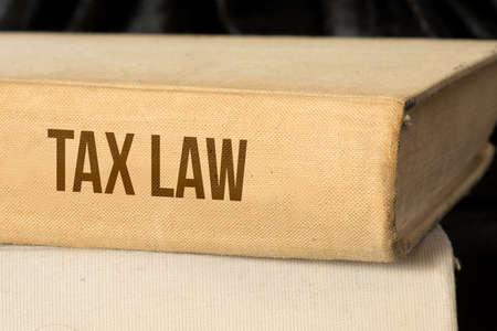 A book for the tax law