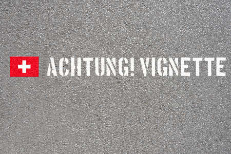 A reference to vignette duty in Switzerland