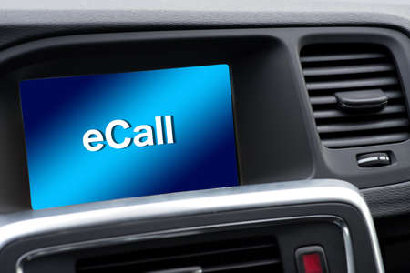 A car and automatic emergency call system eCall