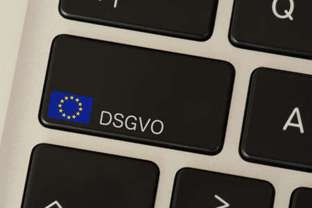 A computer and privacy basic regulation DSGVO