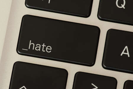 A computer and key for hate