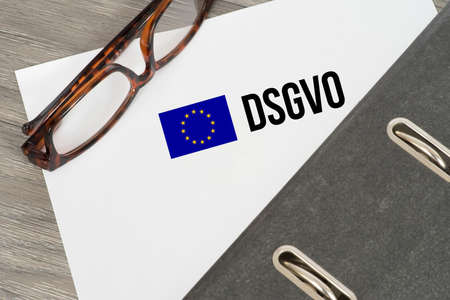 A folder and privacy basic regulation DSGVO