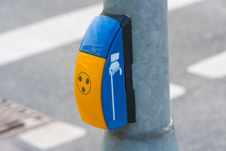 A traffic light and a device for the blind