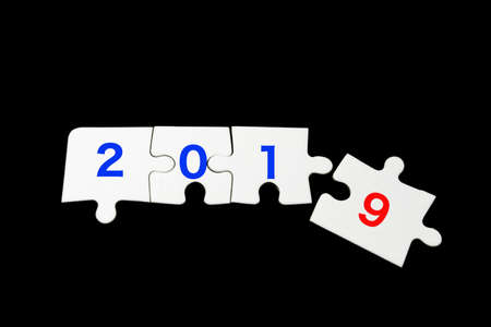 Puzzle unn the New Year 2019