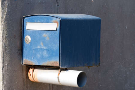 A mailbox at a house Stockfoto