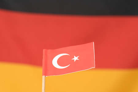 Flag of Germany and Turkey