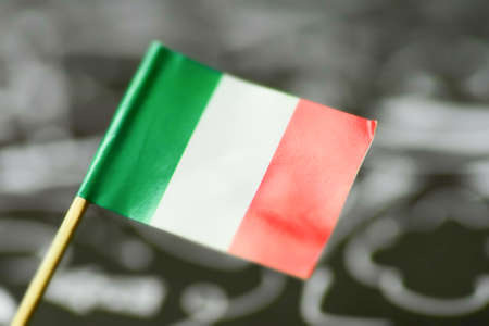 Close-up of the national flag of Italy 版權商用圖片