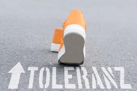 Shoes go towards tolerance