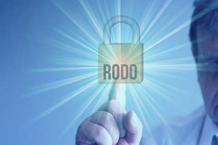 A padlock and data protection RODO in Poland