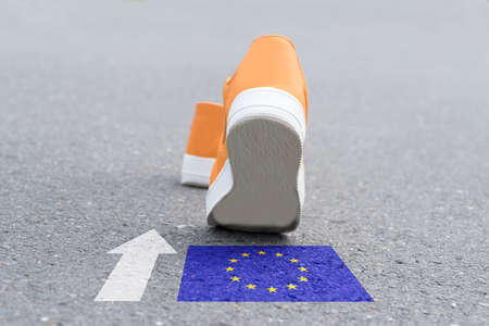 Shoes are heading towards the European Union