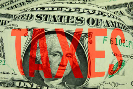 Dollars and tax in America